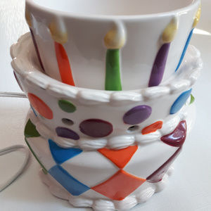 Scentsy Birthday Cake with Candles Retired